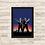 Thumbnail: 1583 - Quadro com moldura MIB - Homens de Preto