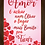 Thumbnail: 6293 - Quadro com moldura Amor...