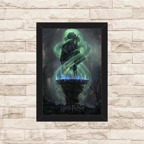 1216 - Quadro com moldura Harry Potter