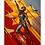 Thumbnail: 1258 - Quadro com moldura Capitã Marvel