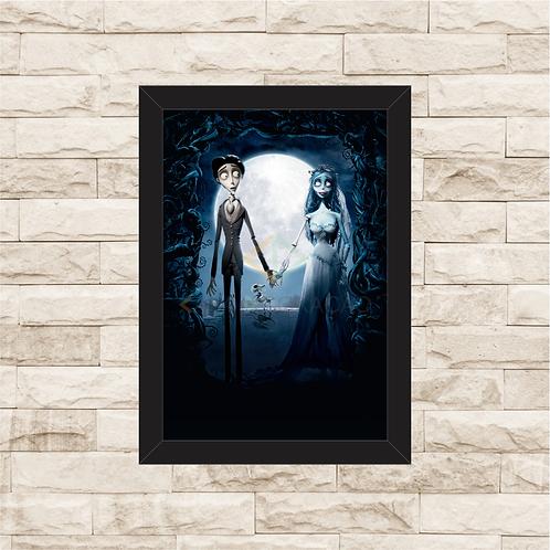 1506 - Quadro com moldura A Noiva Cadáver