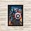 Thumbnail: 1343 - Quadro com moldura Vingadores