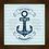 Thumbnail: 6016 - Quadro com moldura Mar Calmo Nunca Fez Bom Marinheiro