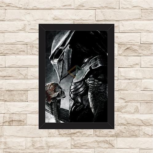 1601 - Quadro com moldura O Predador