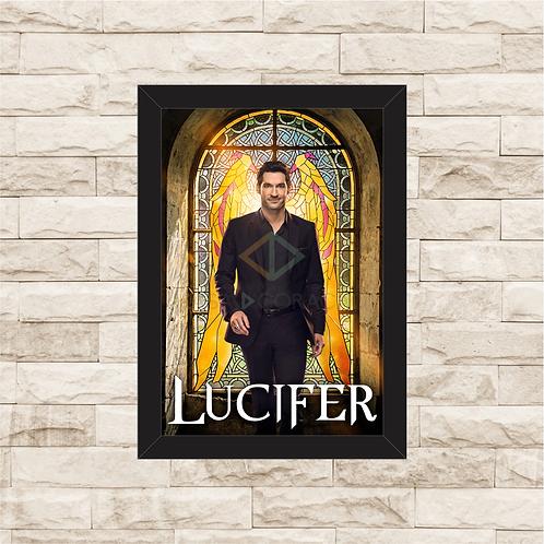 1805 - Quadro com moldura Lucifer