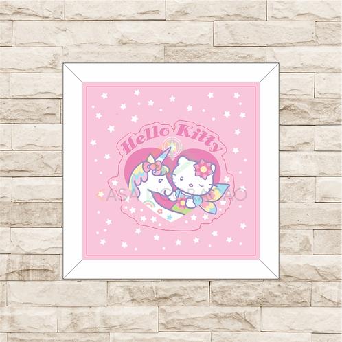 4065 - Quadro com moldura Hello Kitty