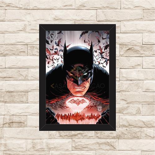 1112 - Quadro com moldura Batman