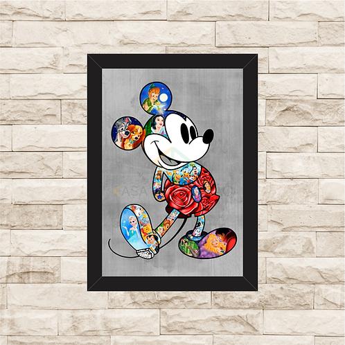1292 - Quadro Decorativo Walt Disney - Mickey