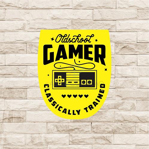 30011 - Placa Decorativa - Old School Gamer