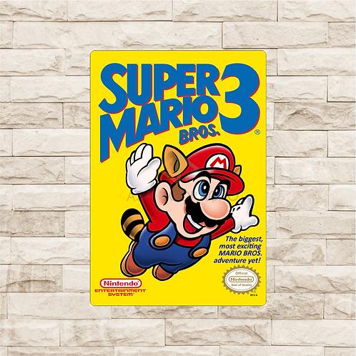 30009 - Placa Decorativa - Super Mario Bros
