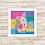 Thumbnail: 4082 - Quadro com moldura Ursinho Pooh - Leitão