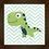 Thumbnail: 4142 - Quadro com moldura Dinossauro