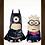 Thumbnail: 1094 - Quadro com moldura Super Minions - Batman x Superman