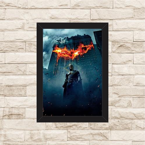 1395 - Quadro com moldura Batman