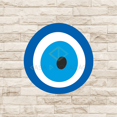 30024 - Placa Decorativa - Olho Grego