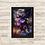 Thumbnail: 1750 - Quadro com moldura Vingadores - Homem de Ferro - Punho de Thanos
