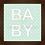 Thumbnail: 4038 C - Quadro com moldura Baby - Verde