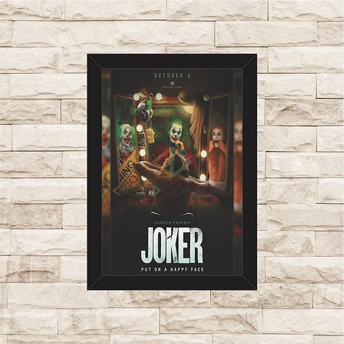 1856 - Quadro com moldura Joker - Coringa