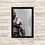 Thumbnail: 1030 - Quadro com moldura God of War - Krato