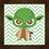Thumbnail: 4125 - Quadro com moldura Yoda Baby