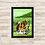 Thumbnail: 1680 - Quadro com moldura Madagascar