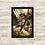 Thumbnail: 1841 - Quadro com moldura Crash Bandicoot