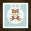 Thumbnail: 4029 - Quadro com moldura Urso Azul