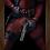Thumbnail: 1353 - Quadro com moldura Deadpool