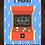Thumbnail: 6280 - Quadro com moldura Game Over