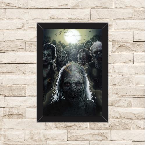 1002 - Quadro com moldura The Walking Dead