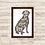 Thumbnail: 8017 - Quadro com moldura Love and Dog
