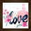 Thumbnail: 6204 - Quadro com moldura Love