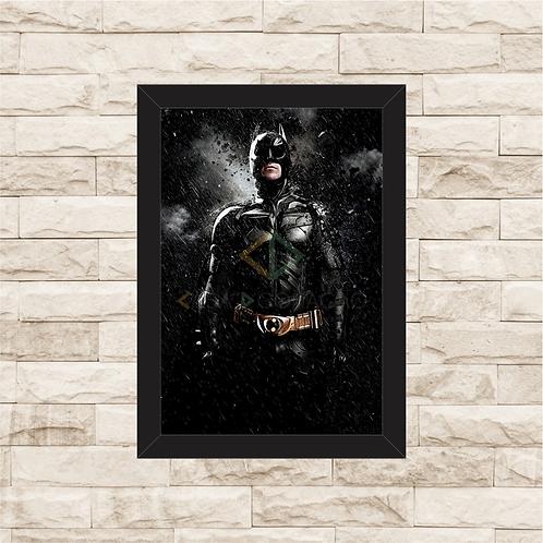 1171 - Quadro com moldura Batman