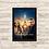 Thumbnail: 1638 - Quadro com moldura Tomorrowland - Um Lugar Onde Nada é Impossível