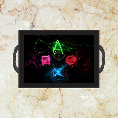 10066 - Bandeja Decorativa - Playstation