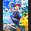 Thumbnail: 1298 - Quadro com moldura Pikachu