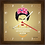 Thumbnail: 9029 - Relógio com moldura Frida Khalo