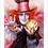 Thumbnail: 1069 - Quadro com moldura Alice no País das Maravilhas - Chapeleiro