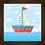 Thumbnail: 4047 - Quadro com moldura Barquinho