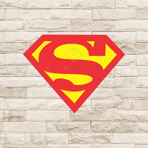 30022 - Placa Decorativa - Escudo Superman