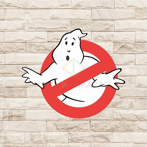 30032 - Placa Decorativa - Caça Fantasmas