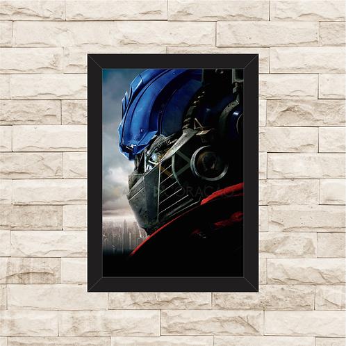 1639 - Quadro com moldura Transformers