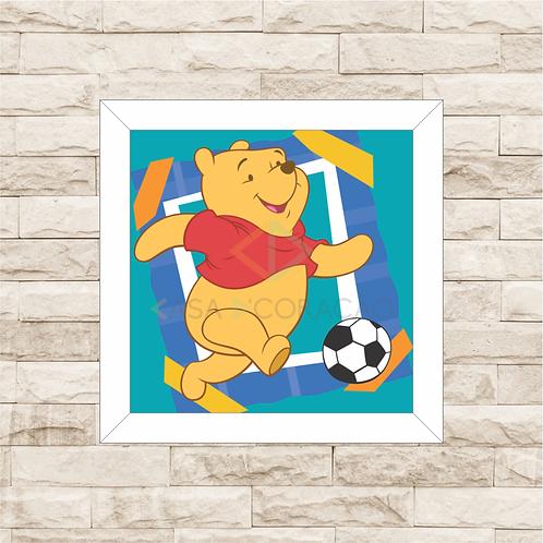 4086 - Quadro com moldura Ursinho Pooh