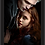 Thumbnail: 1440 - Quadro com moldura Crepúsculo - Edward e Bella