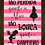 Thumbnail: 6288 - Quadro com moldura Tão Perdida Quanto a Alice...