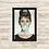 Thumbnail: 1194 - Quadro com moldura Audrey Hepburn