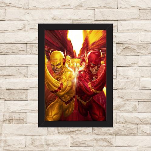 1007 - Quadro com moldura The Flash