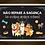 Thumbnail: 8027 - Quadro com moldura Não Repare a Bagunça - Cães
