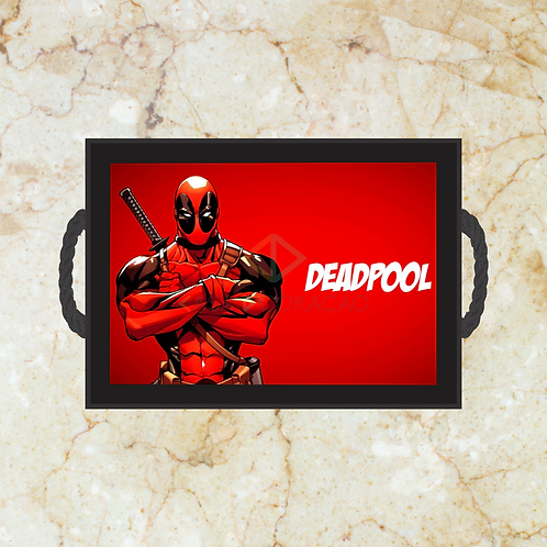 10051 - Bandeja Decorativa - Dead Pool