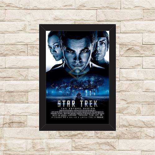 1316 - Quadro com moldura Star Trek